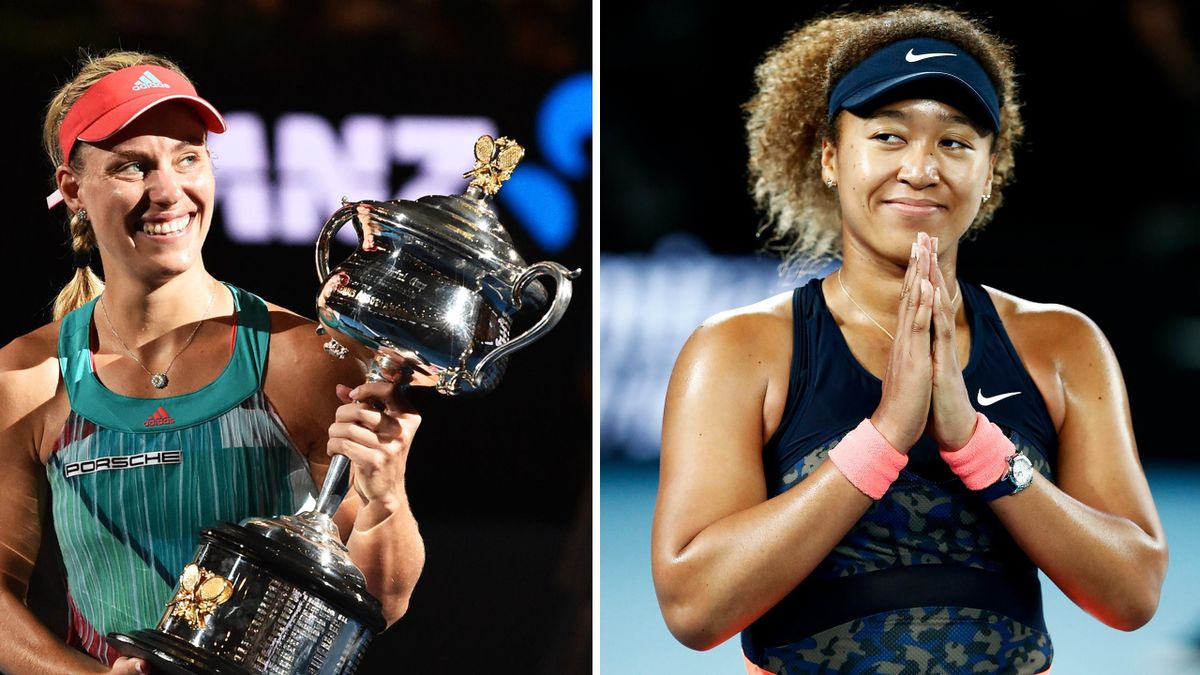 Australian-Open-Siegerinnen Kerber und Osaka