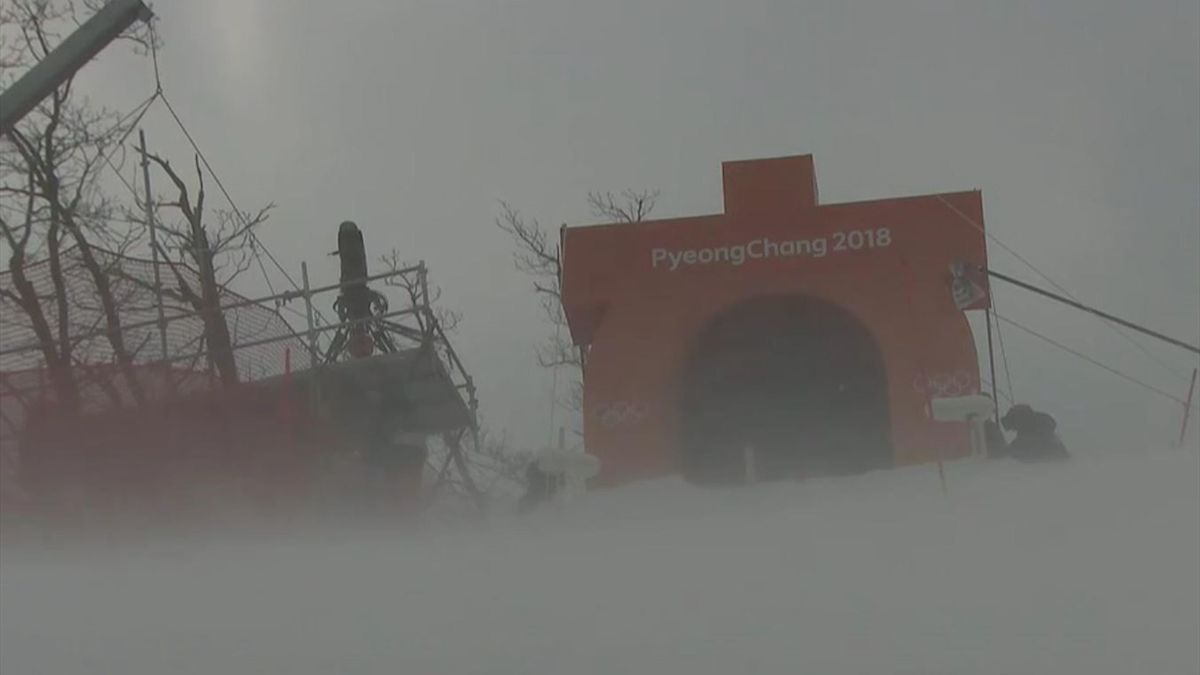 Wind in Pyeongchang