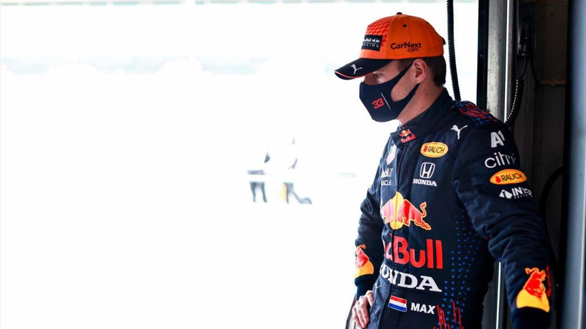 Verstappen (Red Bull) au Grand Prix du Portugal 2021