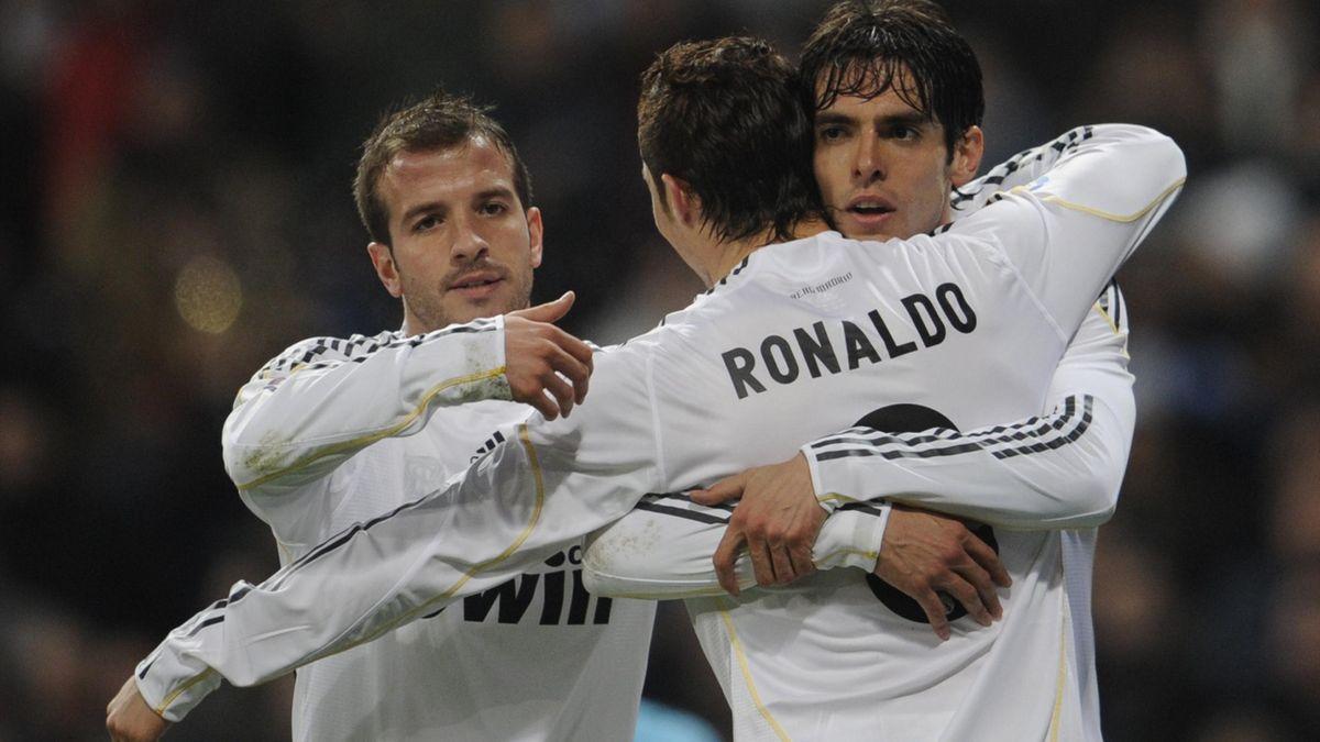Van der Vaart, Kaka și Ronaldo, în 2009