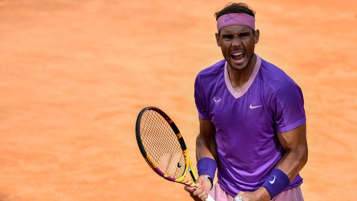 Rafael Nadal hat beim ATP Masters in Rom das Finale erreicht