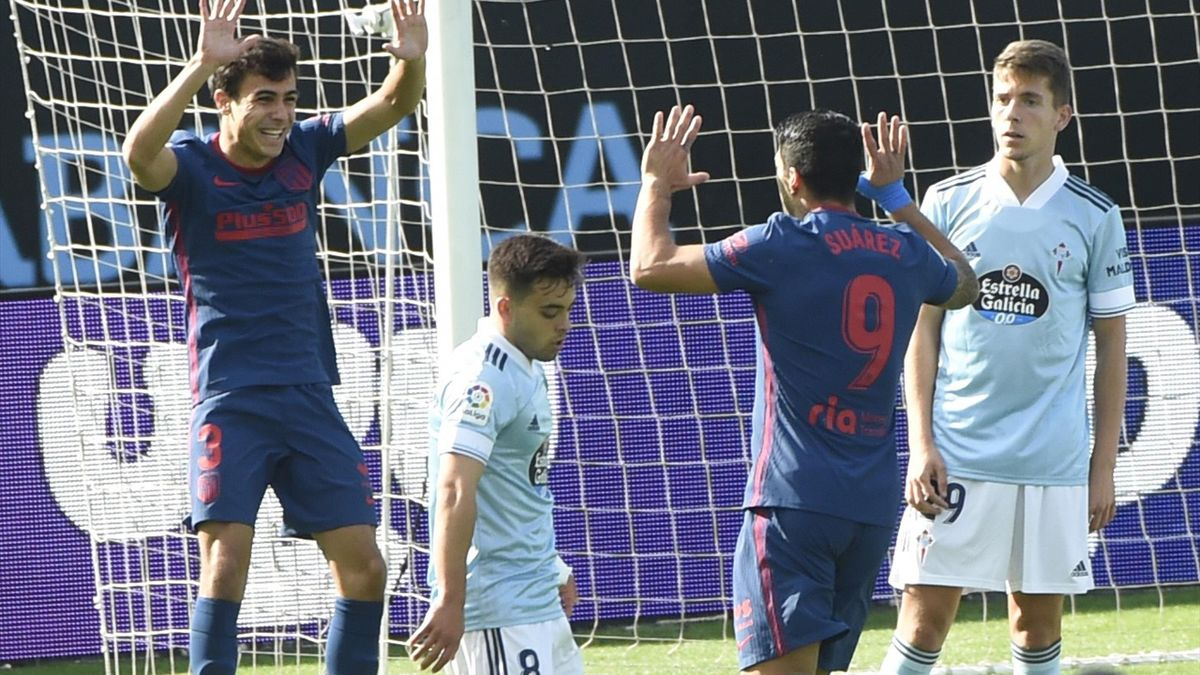 Déjà auteur de son 3e but de la saison avec l'Atlético Madrid face au Celta Vigo lors de la 6e journée, Luis Suarez a mené les siens vers la victoire (0-2)