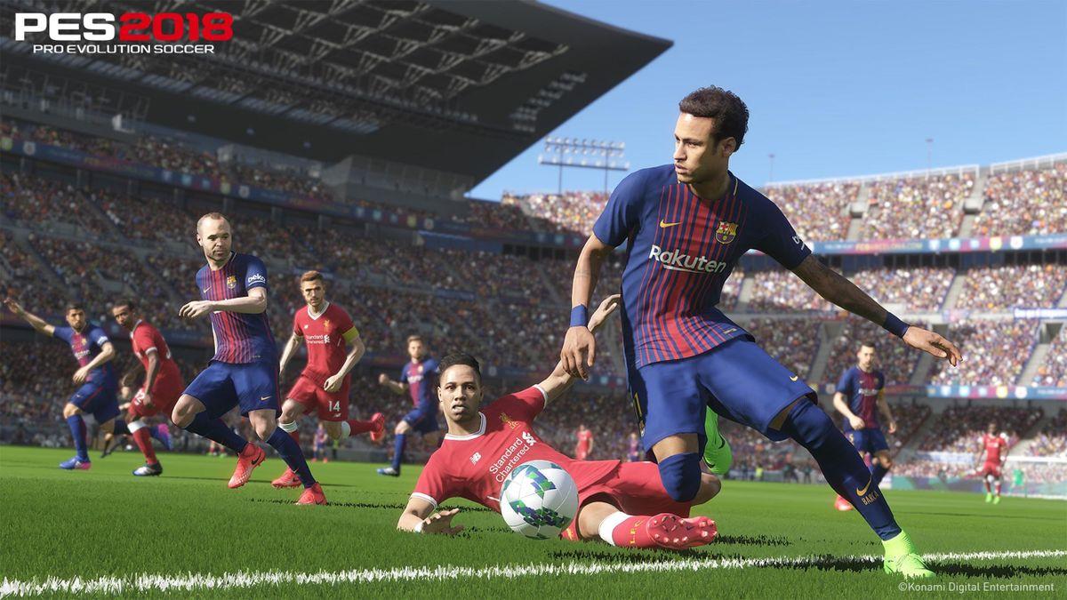 Neymar dans PES 2018