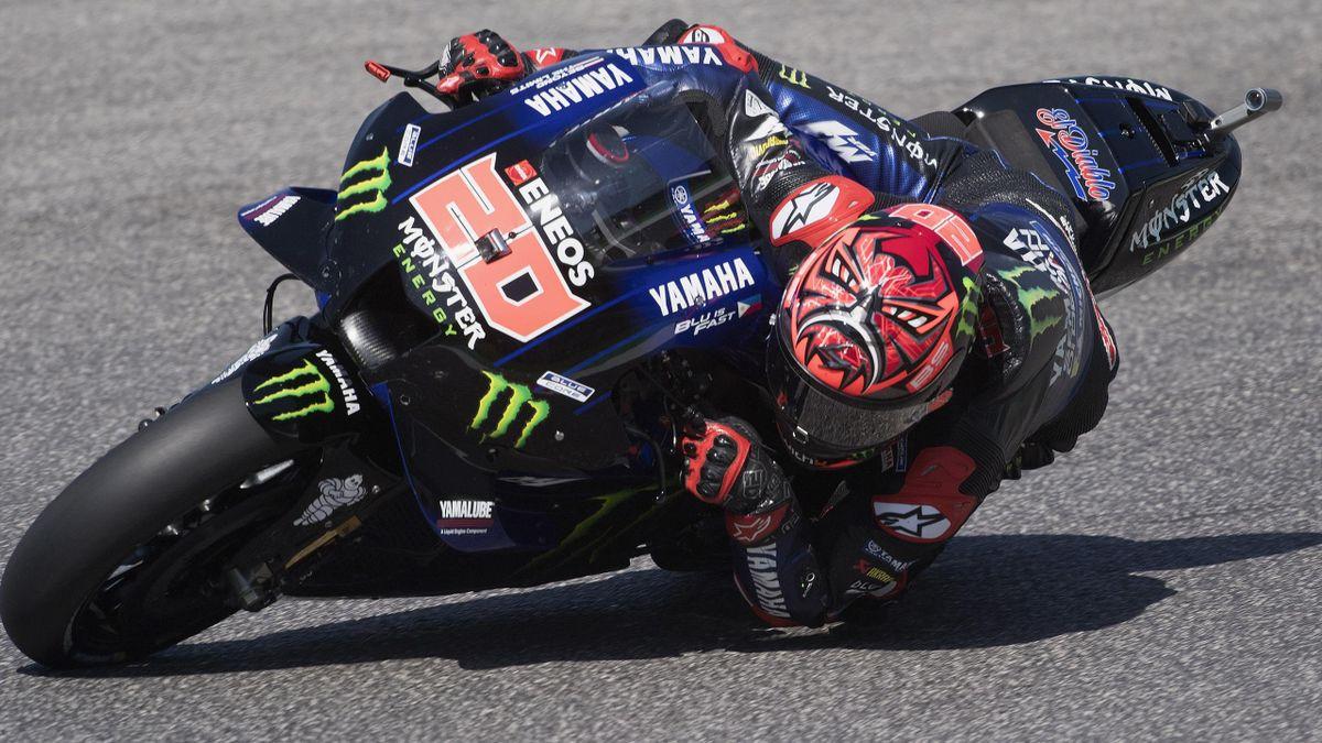 Fabio Quartararo (Yamaha Factory) lors des essais libres du Grand Prix d'Italie - 28/05/21