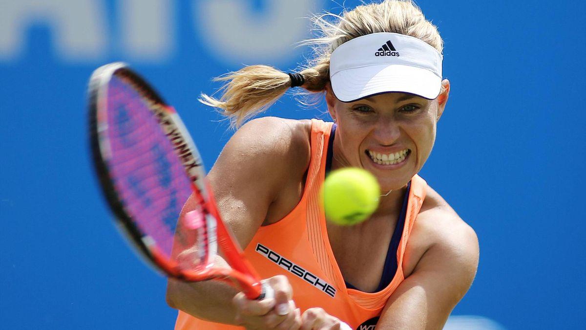 Angelique Kerber gewann das Halbfinale gegen Sabine Lisicki in Birmingham