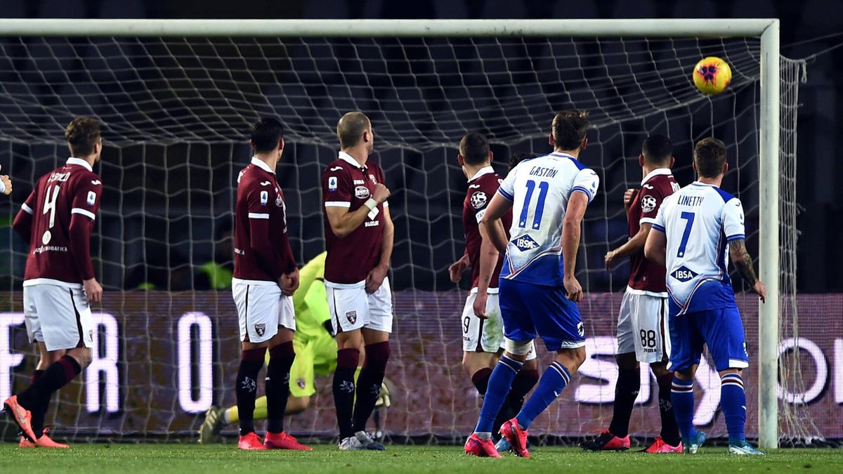 Torino-Sampdoria 1-3: Verdi illude, Ramirez e Quagliarella riportano la Sampdoria alla vittoria - Eurosport
