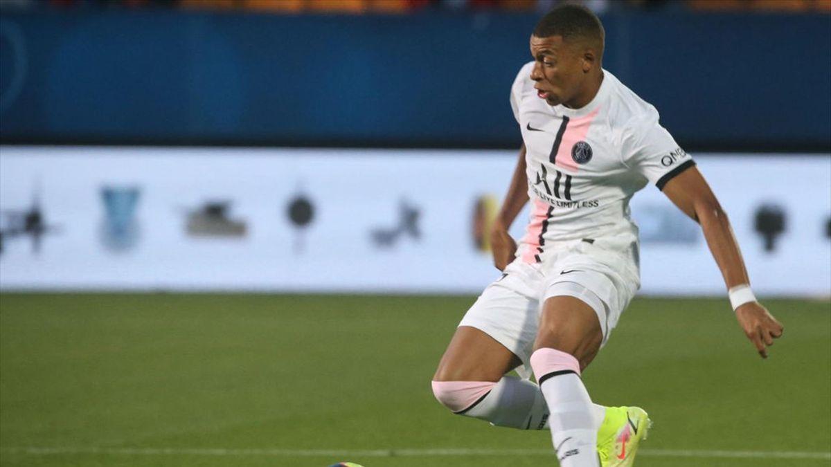 Mbappé en el Troyes-PSG