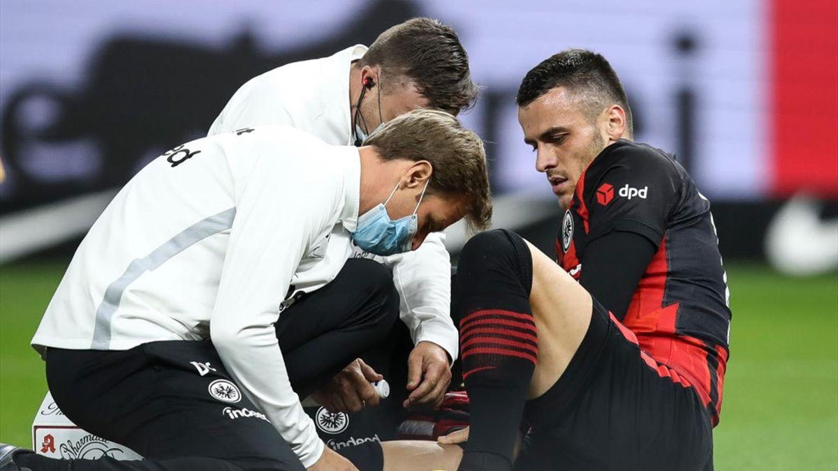 Filip Kostic von Eintracht Frankfurt fällt mehrere Wochen aus