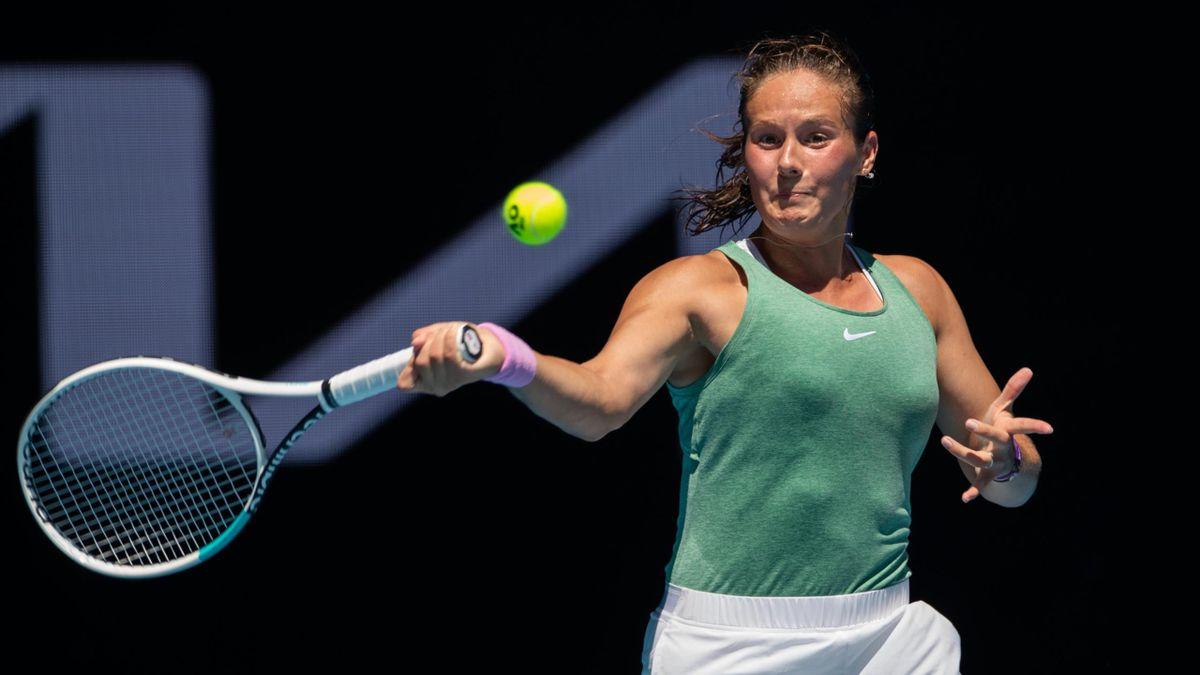 La Russe Daria Kasatkina lors de la tournée en Australie du début de saison 2021