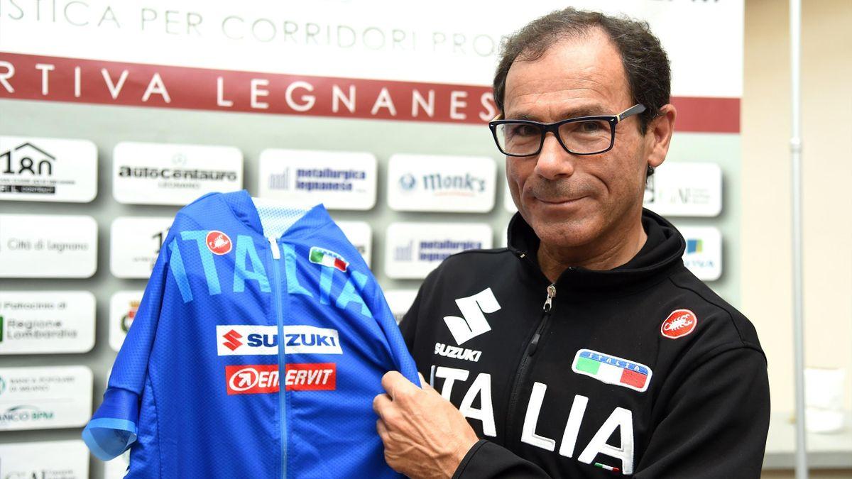 Davide Cassani, ct della Nazionale italiana, Getty Images