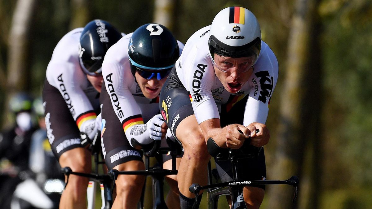 Tony Martin in action for Germany