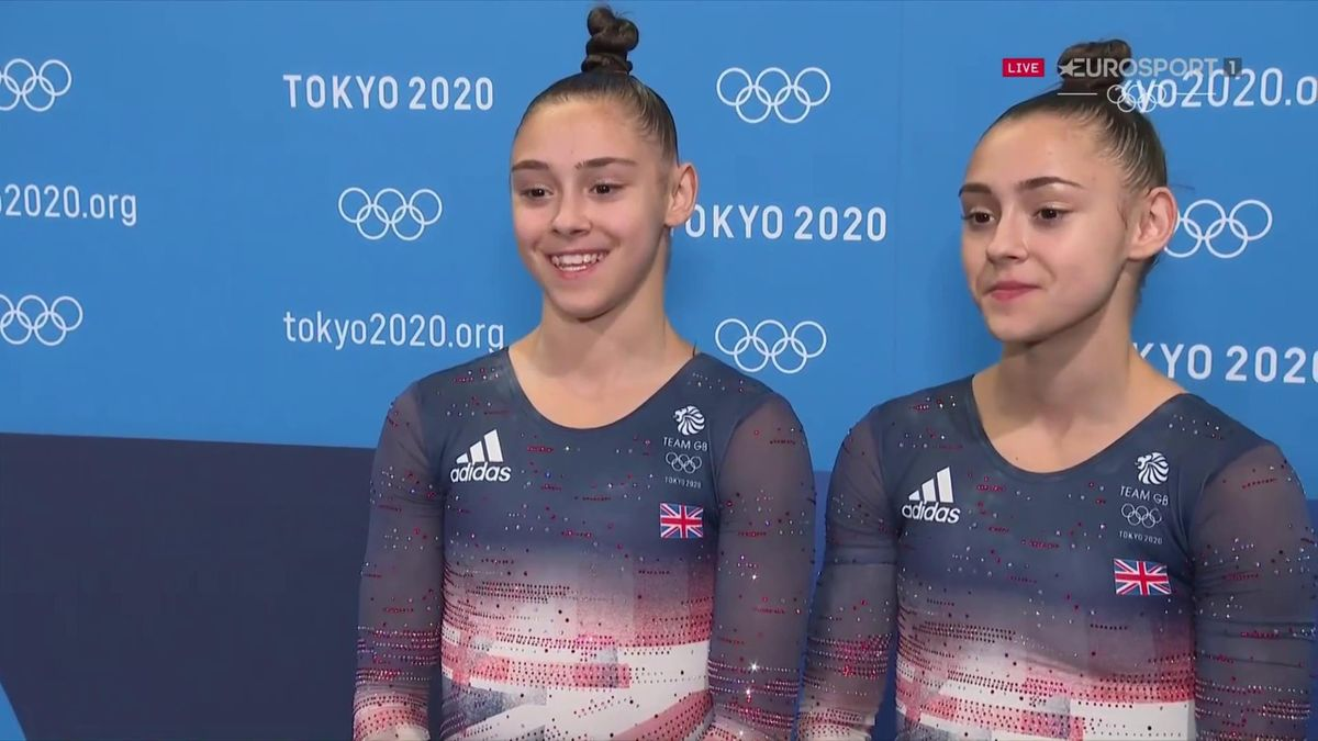 'It's so rare to share this amazing feeling' - Gadirova twins on competing together at Olympics
