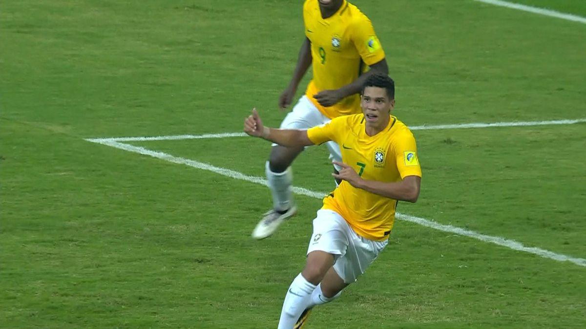 1007 HLTS U17 Brazil vs Spain