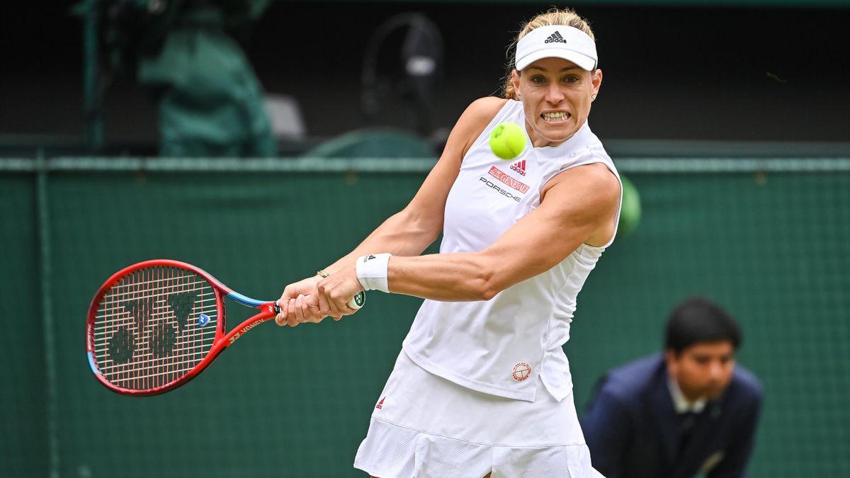 Angelique Kerber im Wimbledon-Halbfinale gegen Ashleigh Barty