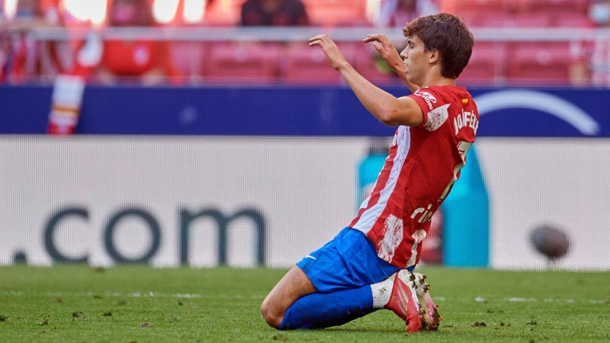 Joao Felix - Atletico Madrid-Athletic Liga 2021-22