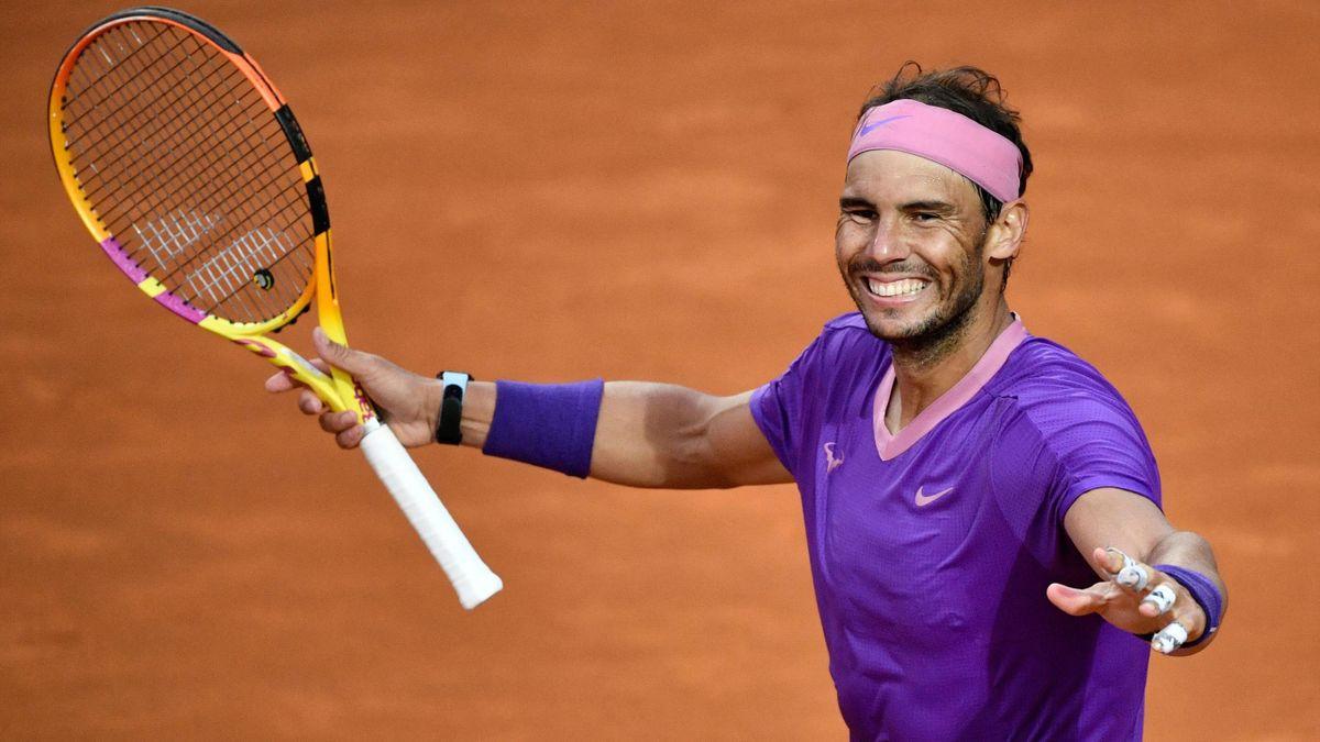 Rafa Nadal celebra su décimo título en el Masters 1000 de Roma