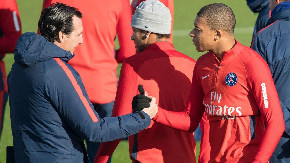 Unai Emery trainierte Kylian Mbappé bei PSG