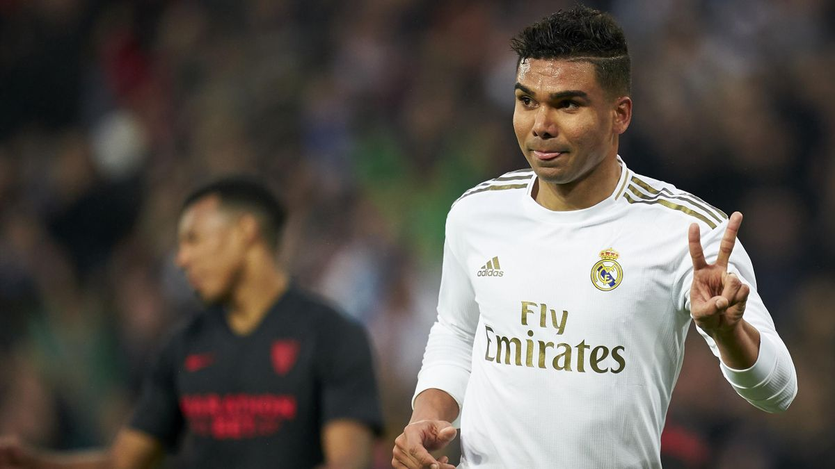 Casemiro von Real Madrid