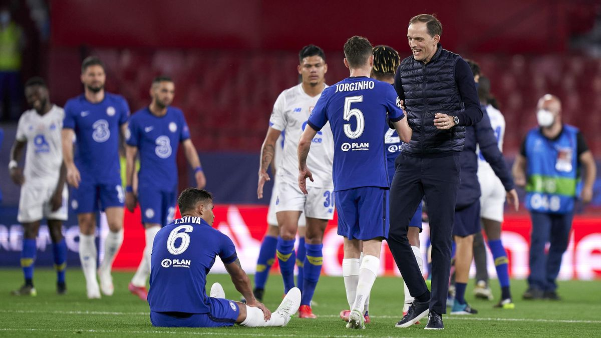 Thomas Tuchel (r.) hat mit dem FC Chelsea das Champions-League-Halbfinale erreicht