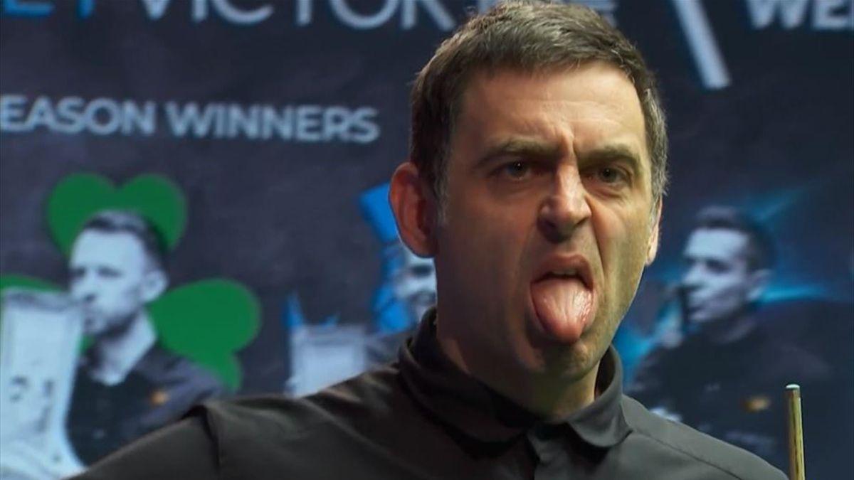 Ronnie O'Sullivan im Finale der Welsh Open