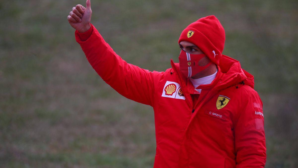 Carlos Sainz Jr, pilota Ferrari