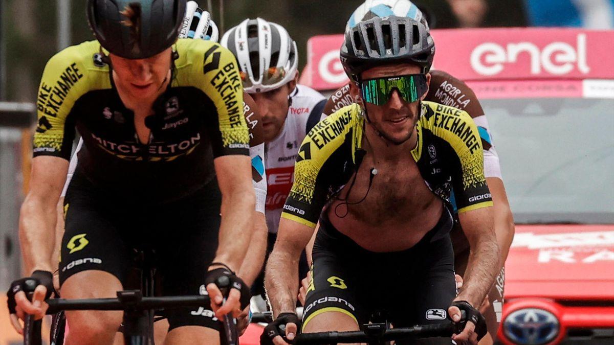 Simon Yates a pierdut pe Etna trei minute în raport cu Nibali şi Fuglsang