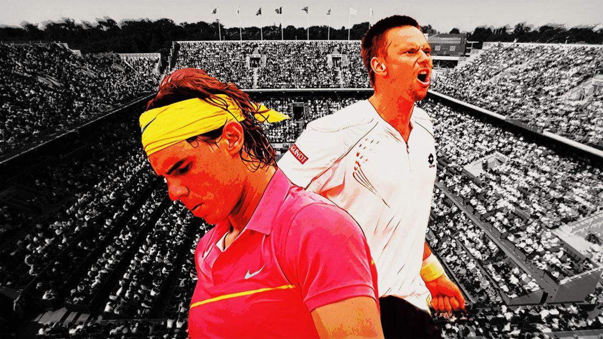 Robin Söderling - Rafael nadal, Roland-Garros 2009.