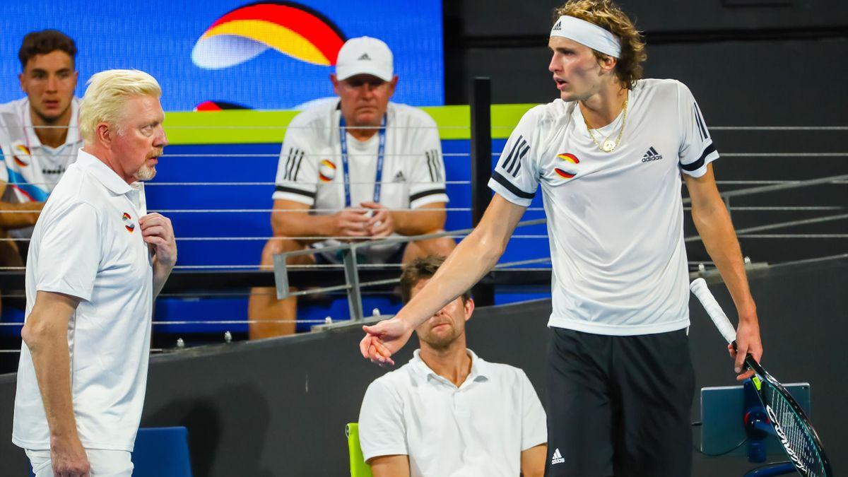 Александр Зверев, Борис Беккер, Германия, ATP Cup-2020