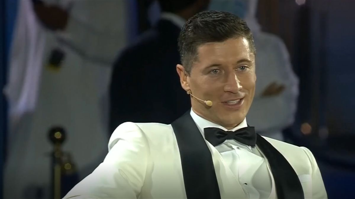 Robert Lewandowski bei den Globe Soccer Awards