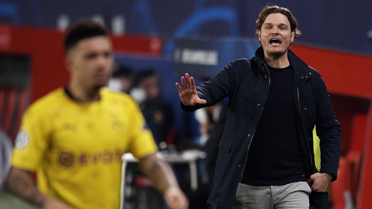 Borussia Dortmunds Trainer Edin Terzic