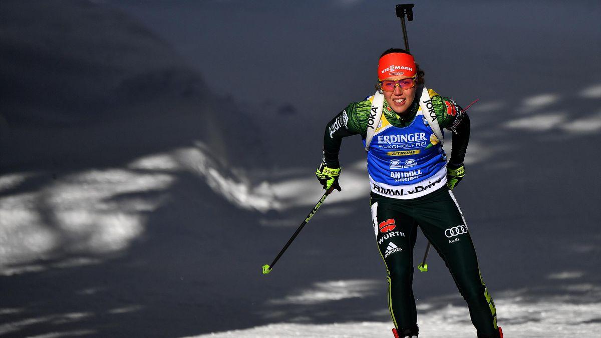 Laura Dahlmeier kann in jedem Rennen um Gold kämpfen