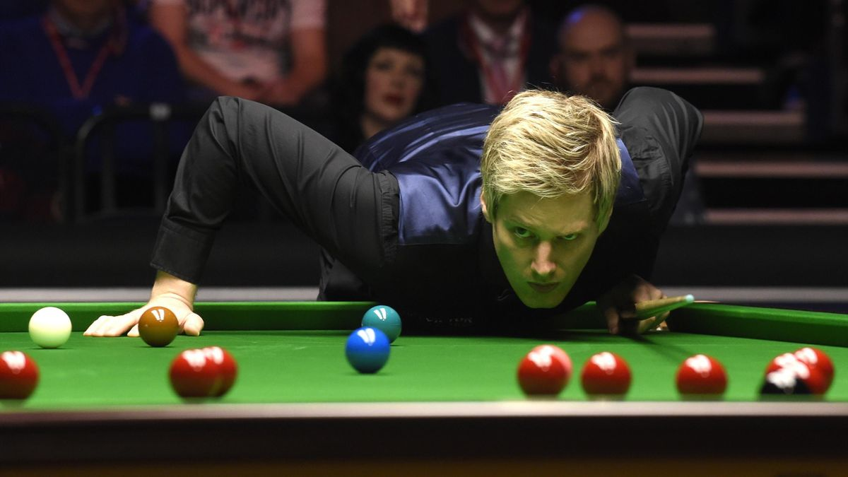 Neil Robertson is chasing a second Masters title.