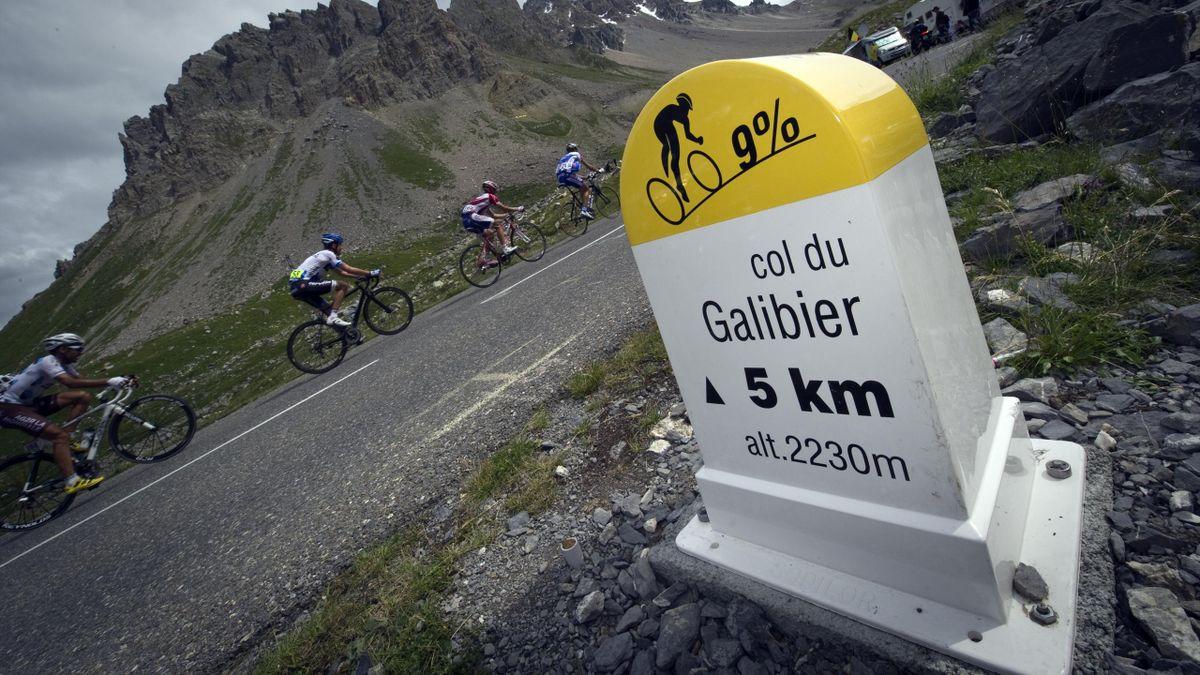 Der Col du Galibier, bei der Tour de France 2022 gleich doppelt im Programm
