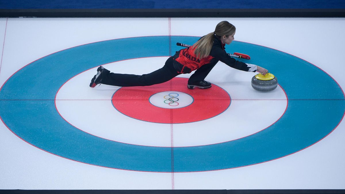 Canada Curling, Pyeongchang 2018, Getty Images