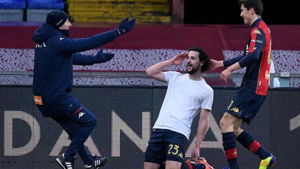 Mattia Destro, Genoa-Lazio