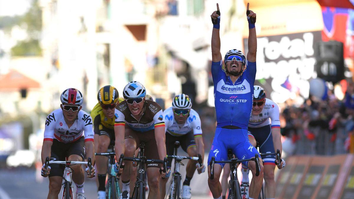 Julian Alaphilippe (Deceuninck-Quick Step), vainqueur de Milan-SanRemo 2019