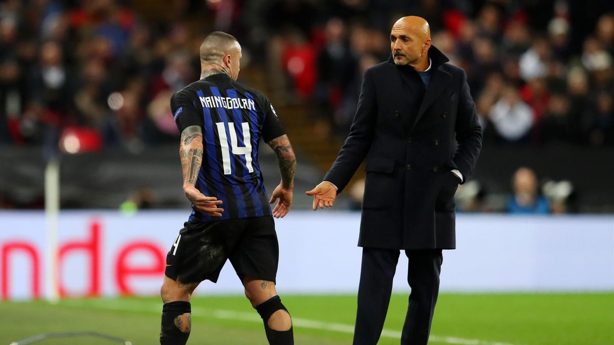 Luciano Spalletti, Radja Nainggolan, Inter, Getty Images