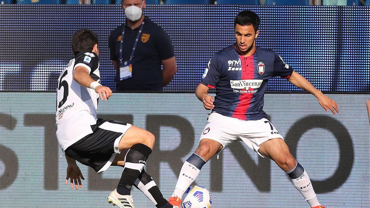 Adam Ounas, Parma-Crotone, Serie A 2020-21, Getty Images