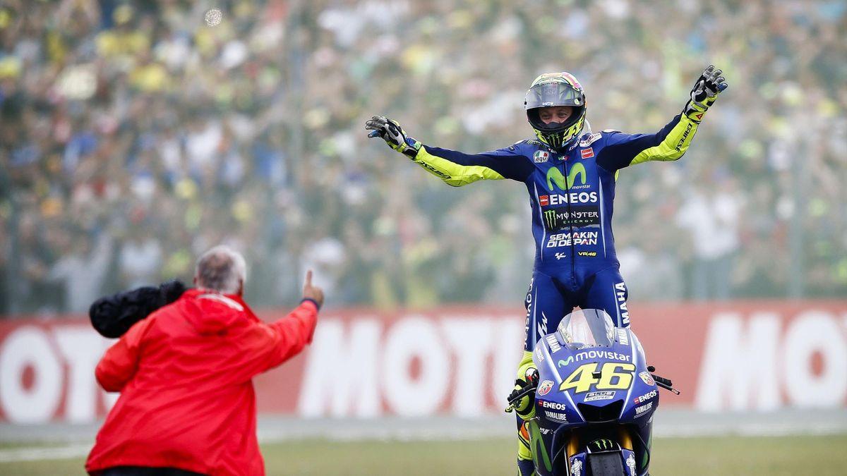 Valentino Rossi wint TT Assen in 2017