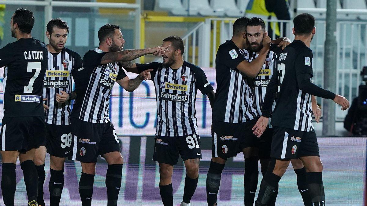 Ascoli-Reggiana, Serie B 2020-2021: esultanza Ascoli (Getty Images)