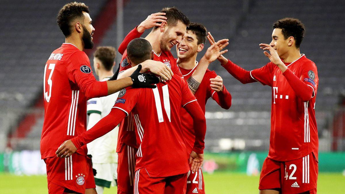 Gewohntes Bild: Jubel beim FC Bayern München