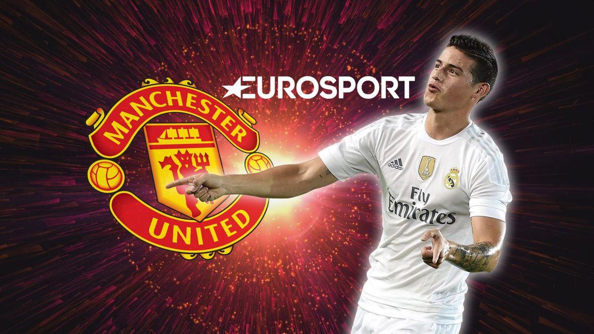 James Rodriguez este aproape de un trasfer la Manchester United