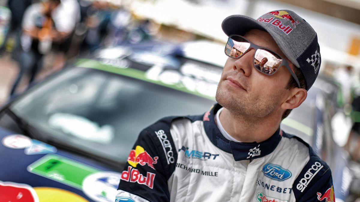 Sébastien Ogier (Ford) au Rallye du Mexique 2017