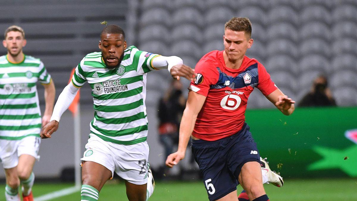 Lille a arraché le nul face au Celtic (2-2)