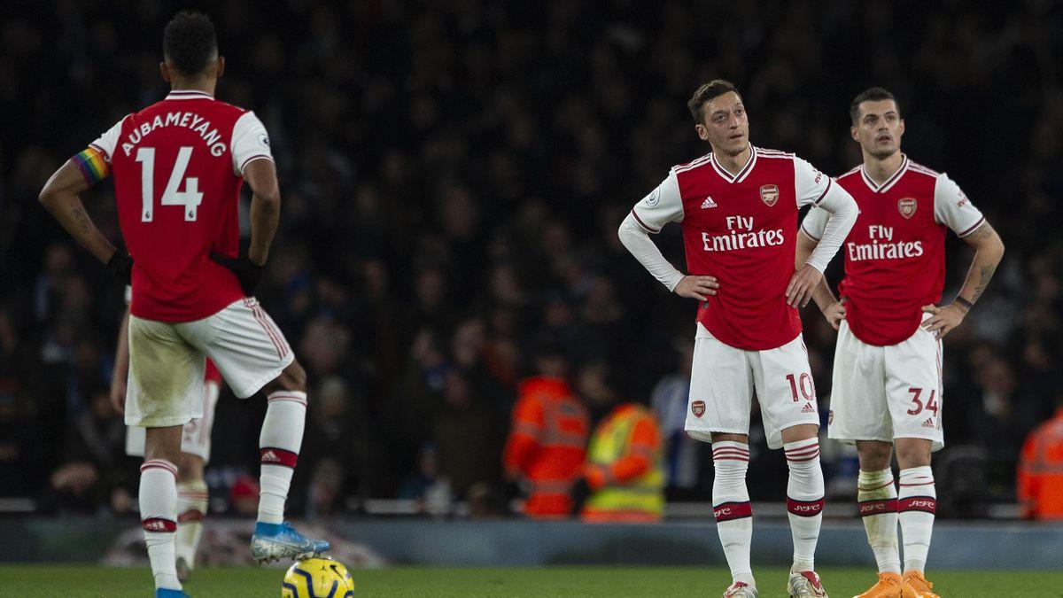 FC Arsenal   Pierre-Emerick Aubameyang - Mesut Özil - Granit Xhaka