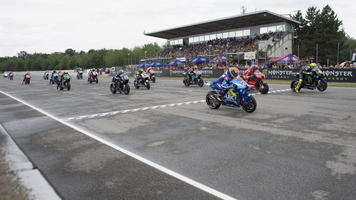 Le GP de République tchèque à Brno en 2019.