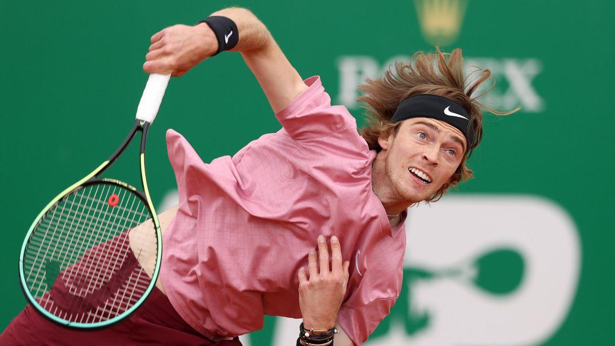 Andrey Rublev à Monte-Carlo en 2021