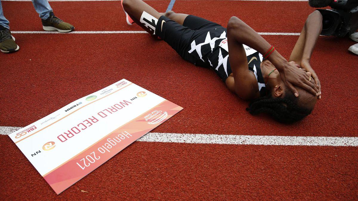 Sifan Hassan új, 10,000m-es világrekordja, 2021. június 6.