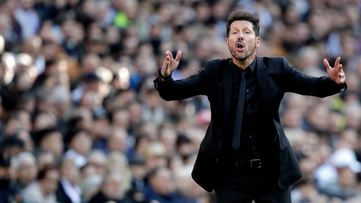 Diego Simeone, tehnicianul lui Atletico Madrid