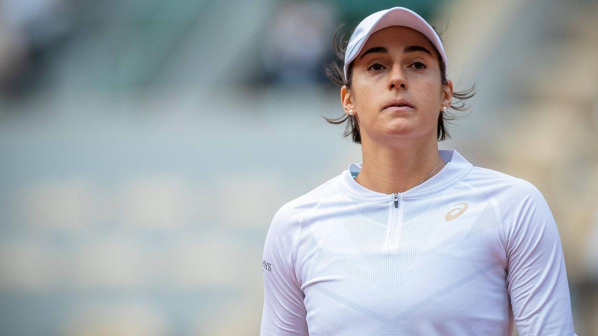 Caroline Garcia, lors de Roland-Garros 2020